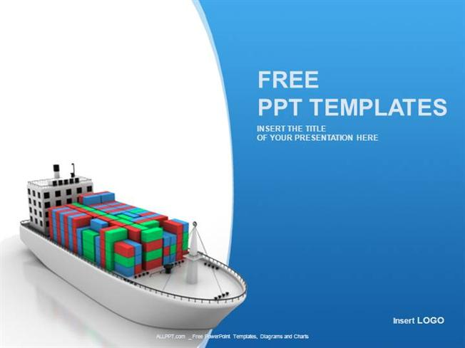 Container ship industry ppt templates standard authorstream toneelgroepblik Gallery