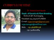 SHAILESH CHAND GAUTAM INTERVIEW PRESENTATION PDF
