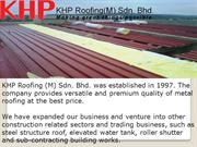 Metal Deck Roofing, Steel Roof Truss System, Industrial Roofing