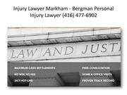 Injury Lawyer Guelph ON - Bergman Personal Injury Lawyer