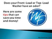 Tips for Smelly Front Load and Top Load Washer Odor Solution
