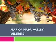 Map of Napa Valley Wineries