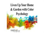 Liven Up Your Home & Garden with Color Psychology