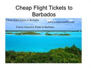 Compare & Book Cheap Flight Tickets to Barbados