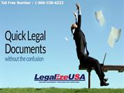 Finding The Best Legal document preparation service by Legal Eze Usa