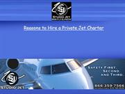 Reasons to Hire a Private Jet Charter