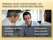 Personal Injury Lawyer Oshawa - LPC Personal Injury