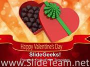 HAPPY VALENTINES DAY WITH GIFT POWERPOINT TEMPLATE