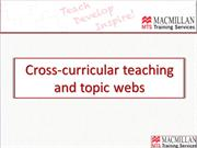 Block 4 Task 1 Cross-curricular teaching and topic webs