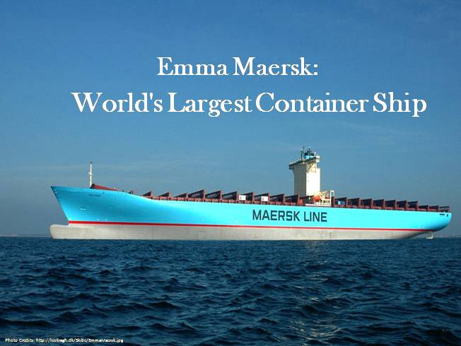 World's Largest Container Ship |authorSTREAM