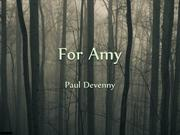 For Amy Lyrics Video