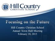 Town Hall Meeting 2015