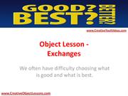 Object Lesson - Exchanges