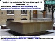 CLSIG: Web 2.0 The truth Behind the Hype [Archive]