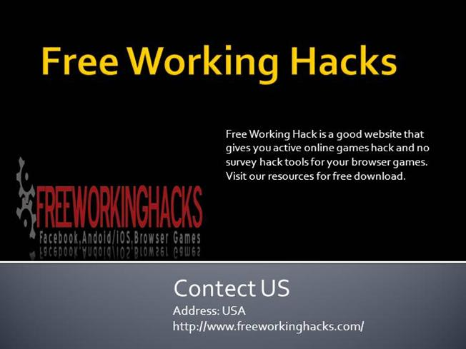 Browser Hack Games Tools Cheats No Survey |authorSTREAM