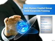 Axis Human Capital Group holds Corporate Training