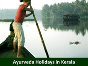 Ayurveda Holidays in Kerala