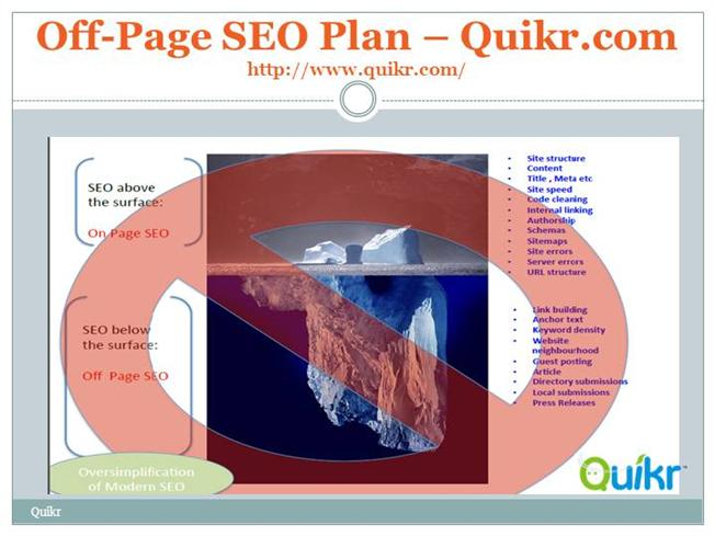 SEO 2015 - Off Page - SEO Plan And Strategy |authorSTREAM