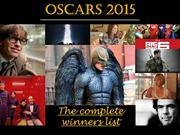 Here Are The Oscars 2015 Winners!