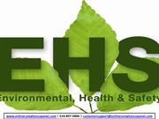 Environmental Health and Safety Risk Management