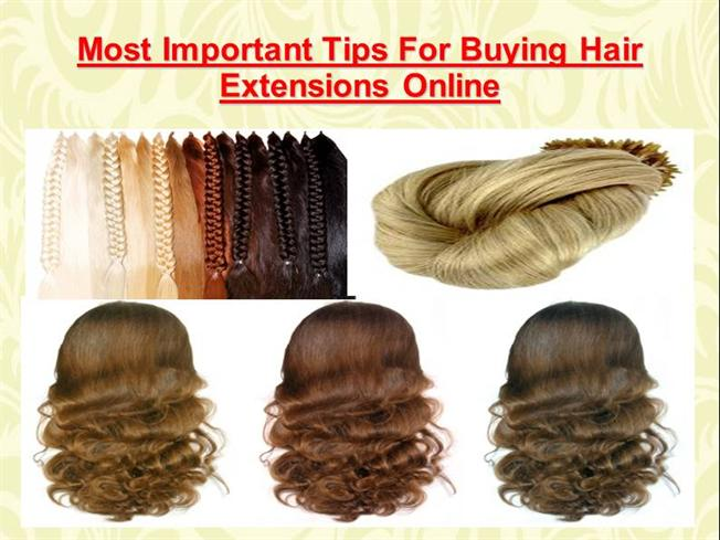 Most Important Tips For Buying Hair Extensions Online Authorstream
