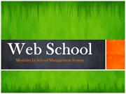 Modules In Web School-School Management System