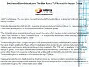 Southern Glove Introduces The New Arma Tuff Armadillo Impact Glove