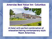 Americas  Best  Value  Inn  Columbus  OH