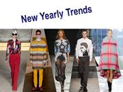New Yearly Trends