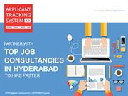 Partner with top job consultancies in Hyderabad to Hire faster