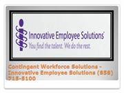 Employer Of Record CA - Innovative Employee Solutions (858) 715-5100