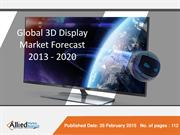 3D Display Market (Type, Technologies, Access Methods, Application and