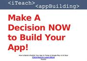 How to Build & Publish Your App in iTunes & Google Play in 30 Days