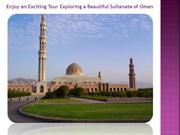 Enjoy an Exciting Tours in Oman