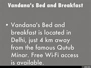 Vandana's bed and breakfast