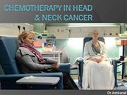 Chemo for head&neck ca