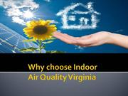 Why choose Indoor Air Quality Virginia