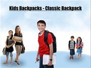 Kids Backpacks - Classic Backpack