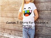 Custom T-Shirts For Children's Parties
