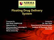 Floating Drug Delivery System - Neel