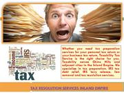 Tax Resolution Services Inland Empire