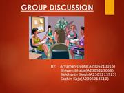 GroupDiscussion