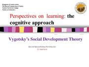 The_Cognitive_Approach-Vygotsky