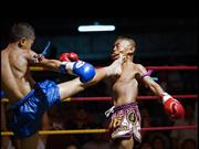 Sport or Survival. Muay Thai Boxing For Children in Thailand