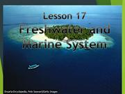Freshwater and Marine Systems