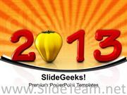 WISHES FOR NEW YEAR THEME0IMAGE3 POWERPOINT TEMPLATE