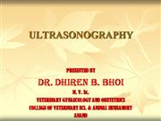 Ultrasonography-By; Dr. Dhiren B. Bhoi