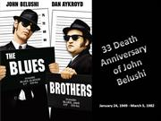 Remembering 33 Death Anniversary of John Belushi