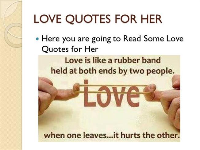 25 Romantic Love Quotes For Her Authorstream