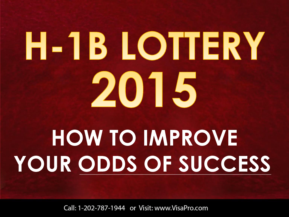 what is h1b visa lottery and how will it work in april 2015 authorstream